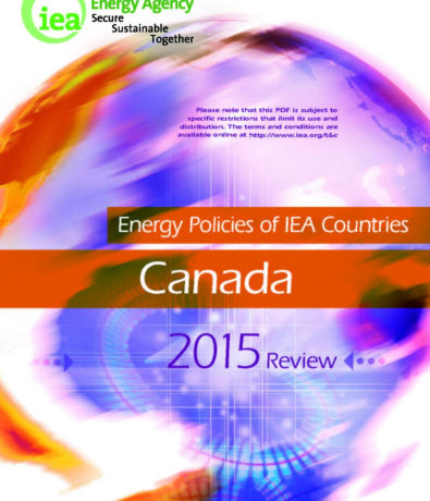 The International Energy Agency on Canada