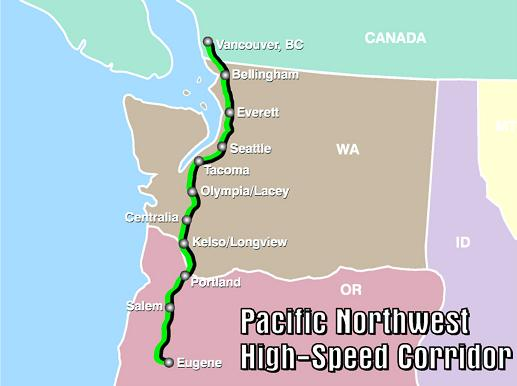 News1130: B.C., Washington and Oregon fast-tracking high-speed rail corridor across Pacific Northwest