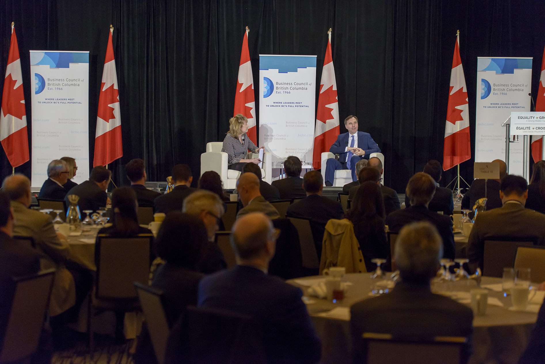 2018 Post Budget Breakfast with the Honourable Bill Morneau, Canada's Minister of Finance
