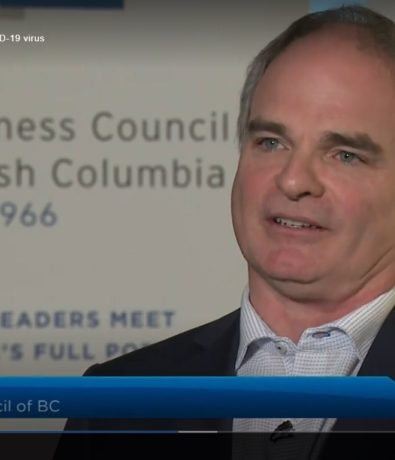 Global News: 'Buckle up' warns B.C. Business Council, amid growing economic impact of COVID-19