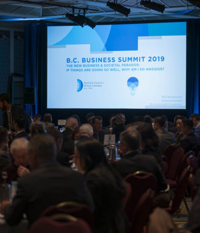 B.C. Business Summit 2019: The New Business & Societal Paradox: If things are going so well, why am I so anxious?