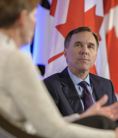 2019 Post Budget Luncheon with the Honourable Bill Morneau, Canada's Minister of Finance
