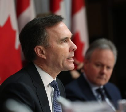 Globe and Mail: Ottawa can spend a lot more to help reeling industries, economists say