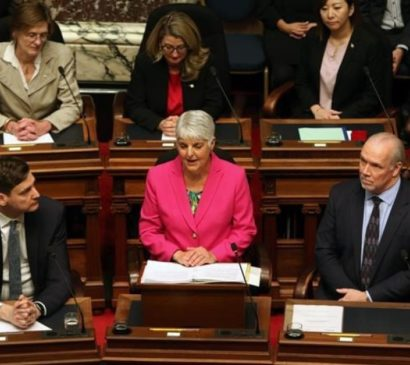 Times Colonist: B.C. budget: Province unveils new taxes on soft drinks, high earners